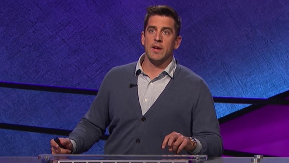Aaron Rodgers sur Celebrity Jeopardy!