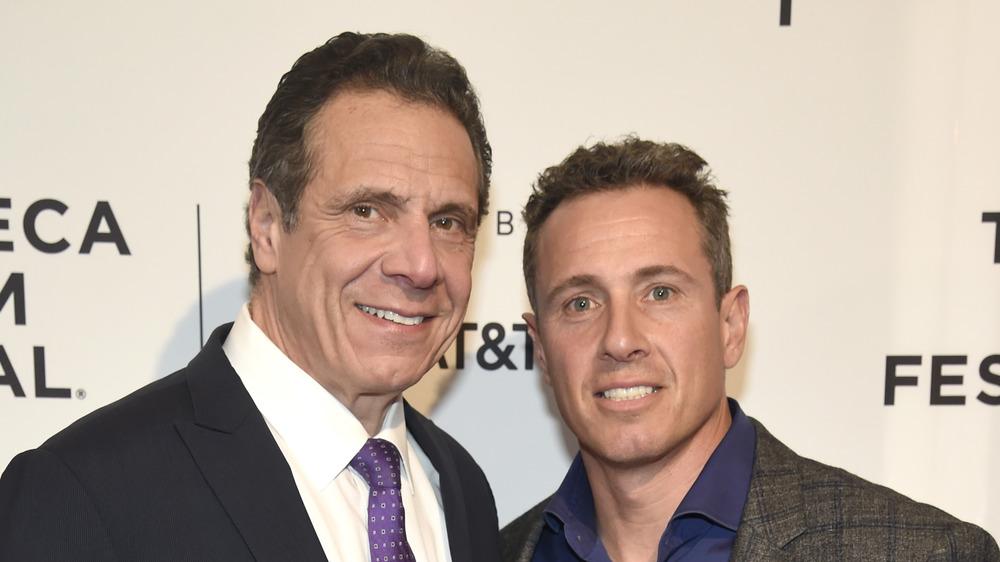 Andrew et Chris Cuomo au Festival du film de Tribeca