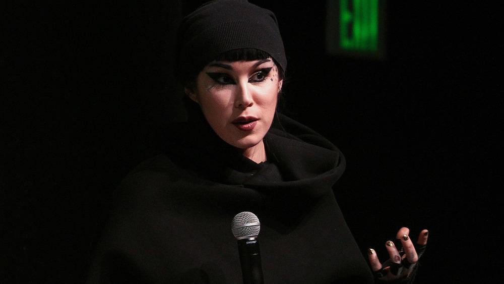 Kat Von D parlant