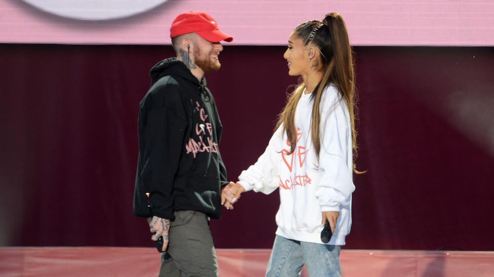 Mac Miller et Ariana Grande en spectacle