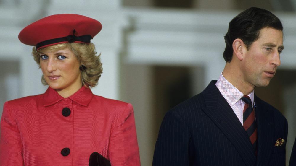 La princesse Diana et le prince Charles ensemble
