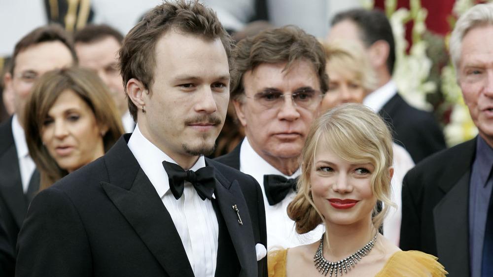 Heath Ledger et Michelle Williams aux Oscars