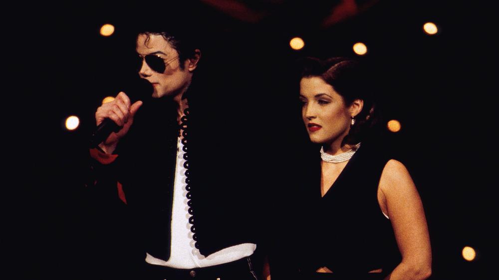 Michael Jackson avec Lisa Marie Presley