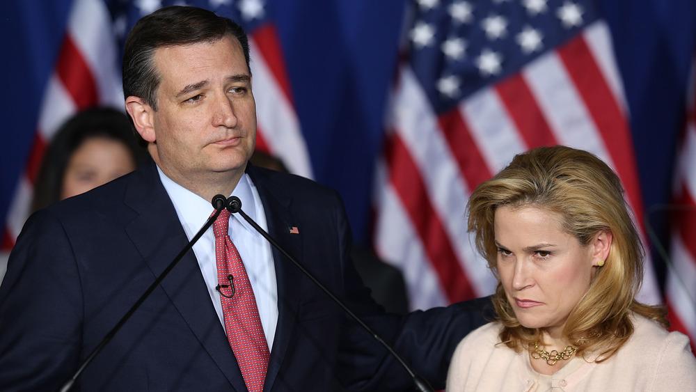 Ted Cruz, Heidi Cruz, s'exprimant