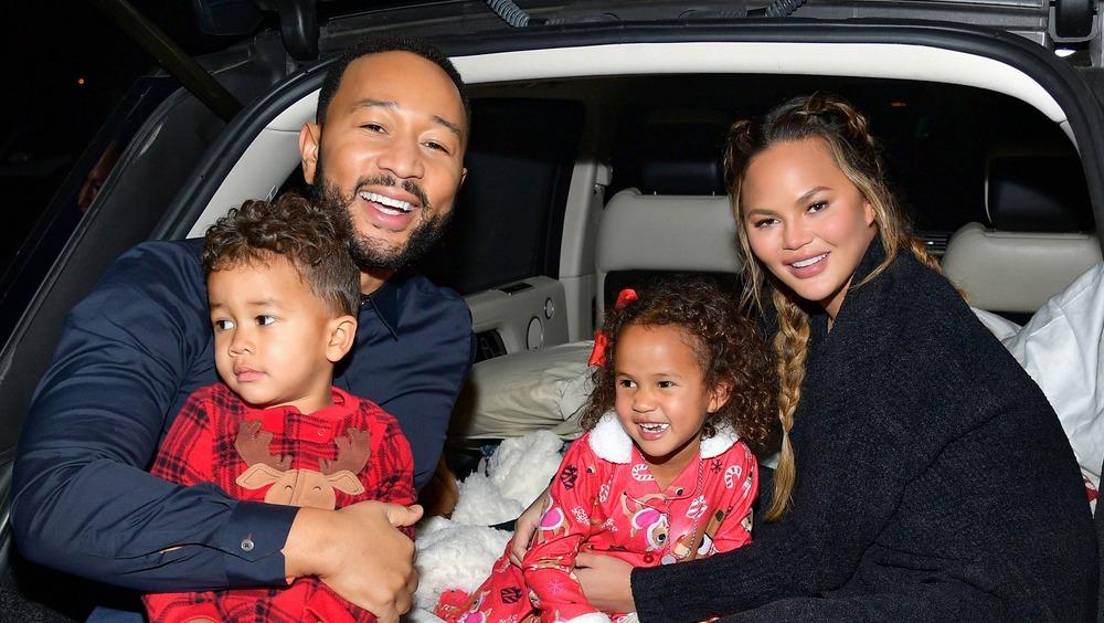 Chrissy Teigen, John Legend et famille