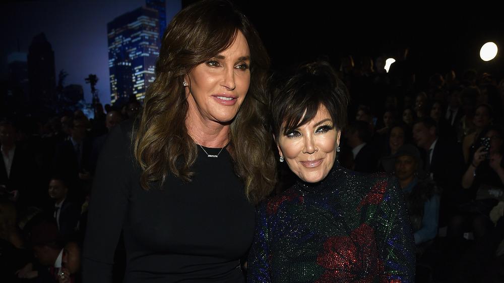 Kris Jenner avec Caitlyn Jenner
