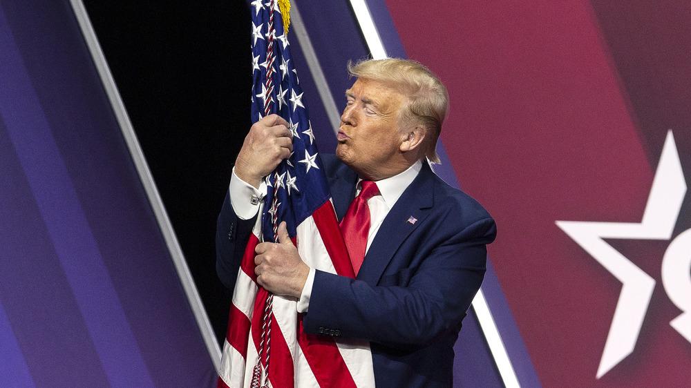 Donald Trump à la Conférence d'action politique conservatrice 2020
