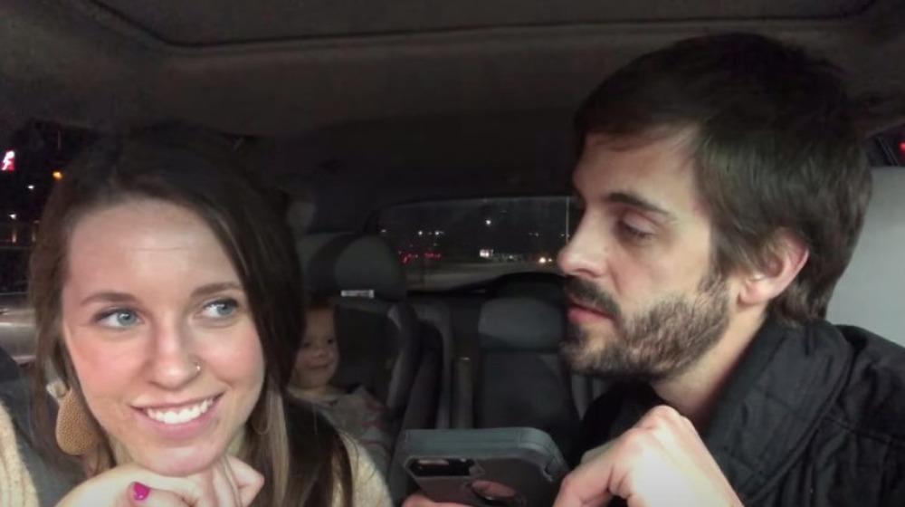 Jill Duggar Dillard et Derick Dillard en voiture