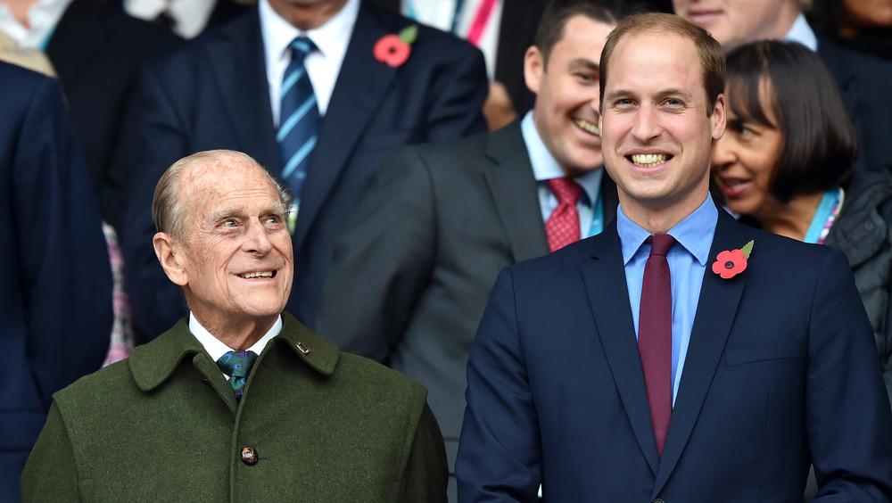 Le prince Philip et le prince William se moquent d'un événement de 2015