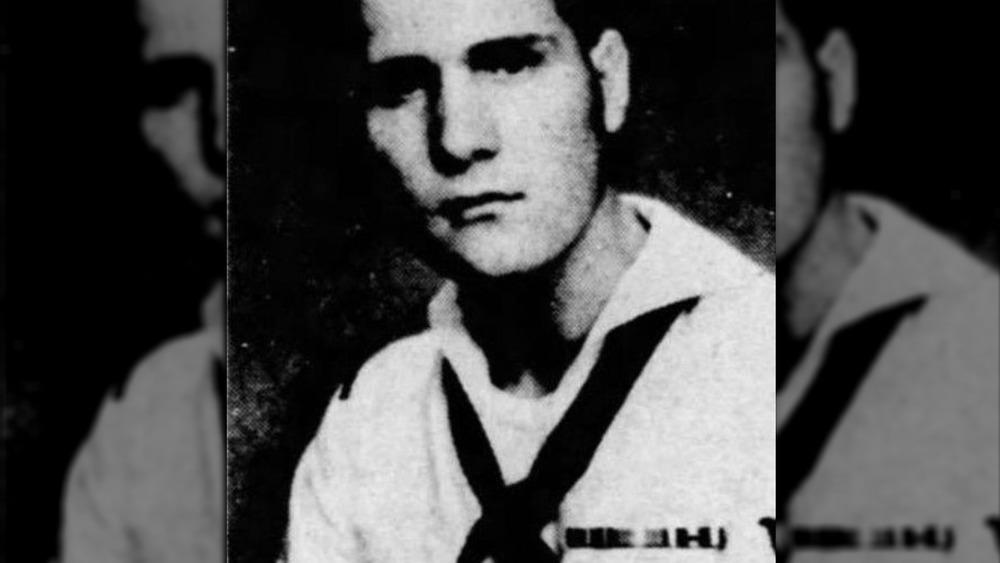 James DeAngelo pendant le service de la Marine