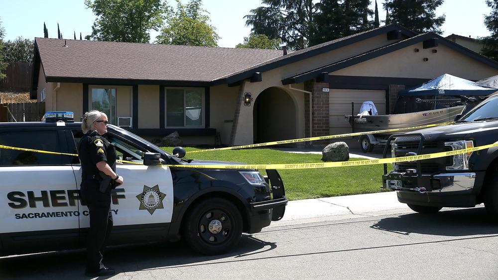 La maison de Joseph James DeAngelo après son arrestation