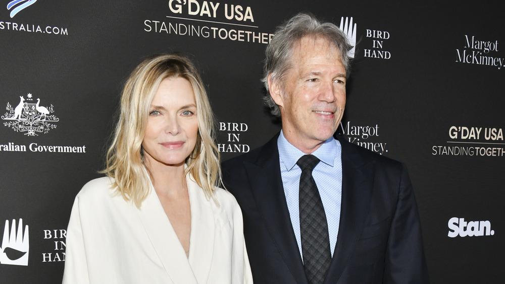 Michelle Pfeiffer et David E. Kelley participant à G'Day USA