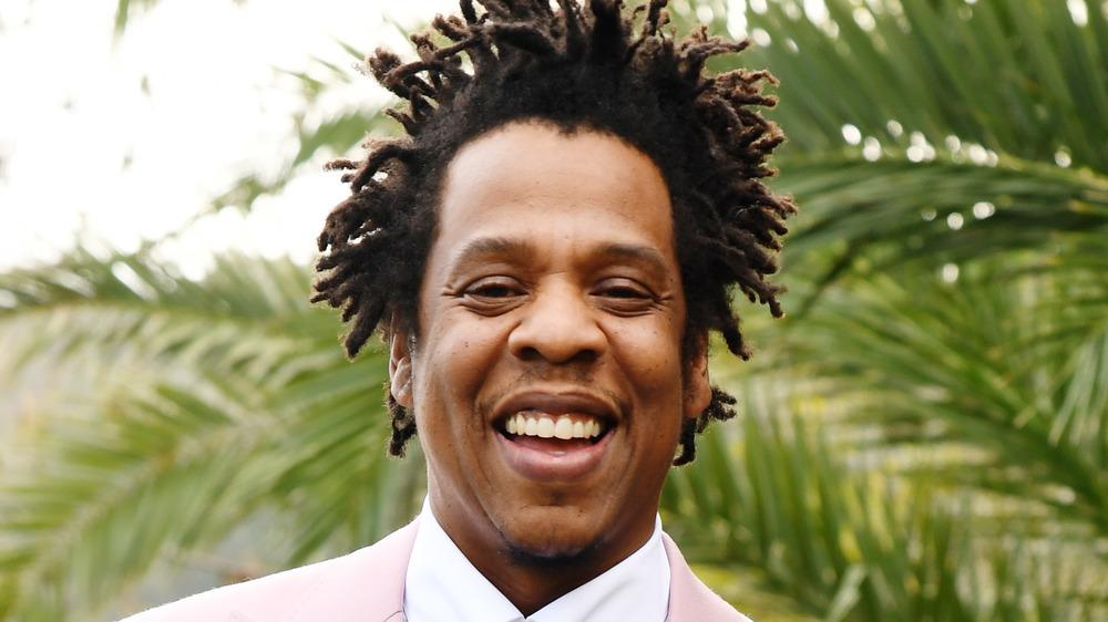 Jay-Z souriant