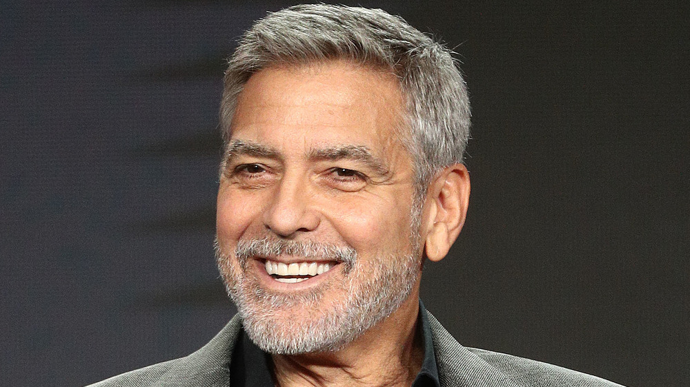 George Clooney souriant