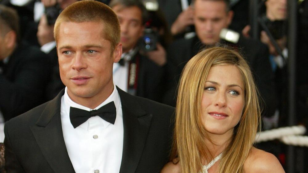 Brad Pitt et Jennifer Aniston sur le tapis rouge