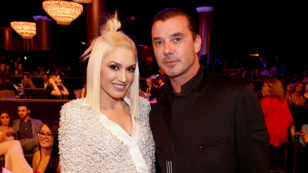 Gwen Stefani et Gavin Rossdale posant ensemble