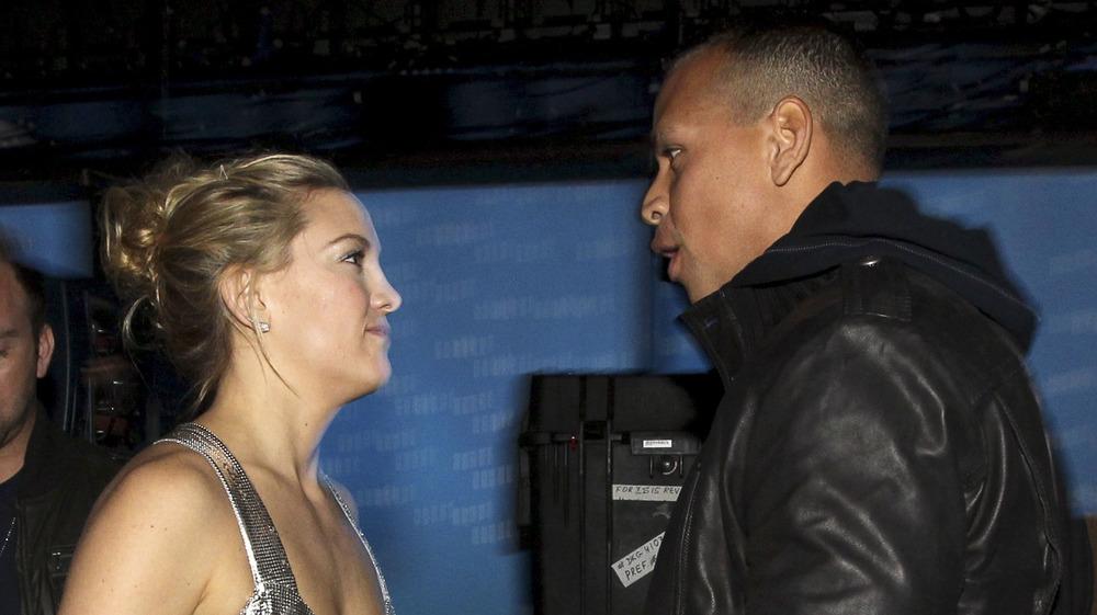 Kate Hudson et Alex Rodriguez se disputent