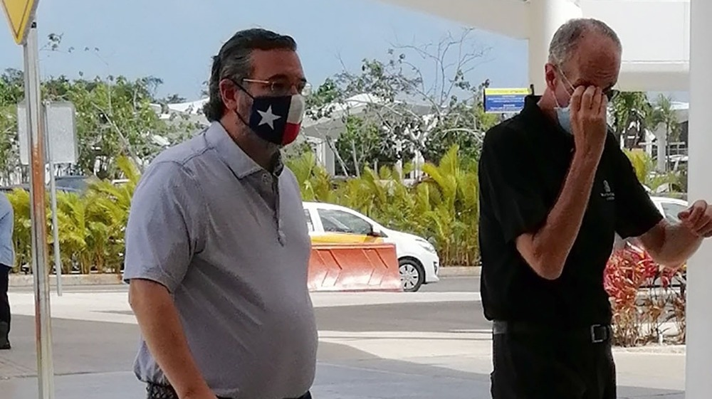 Ted Cruz à Cancun