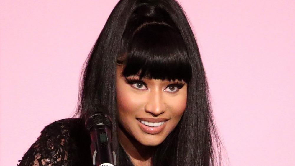Nicki Minaj au micro