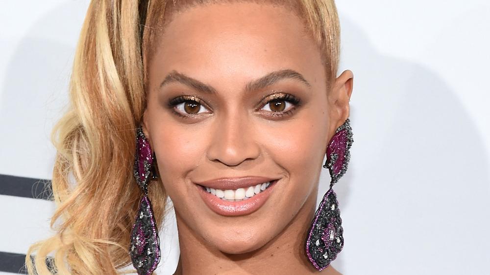 Beyonce souriante