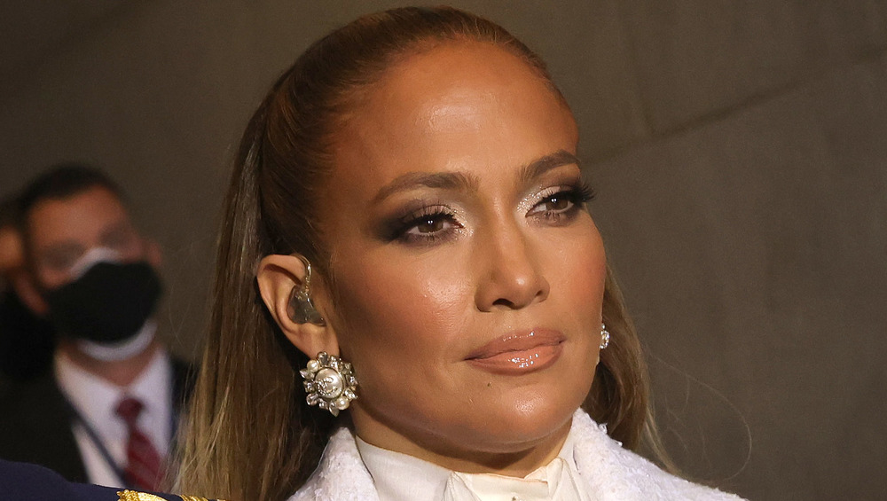 Jennifer Lopez à l'inauguration 2021