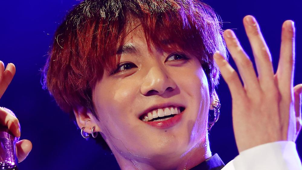 Jungkook de BTS sur scène