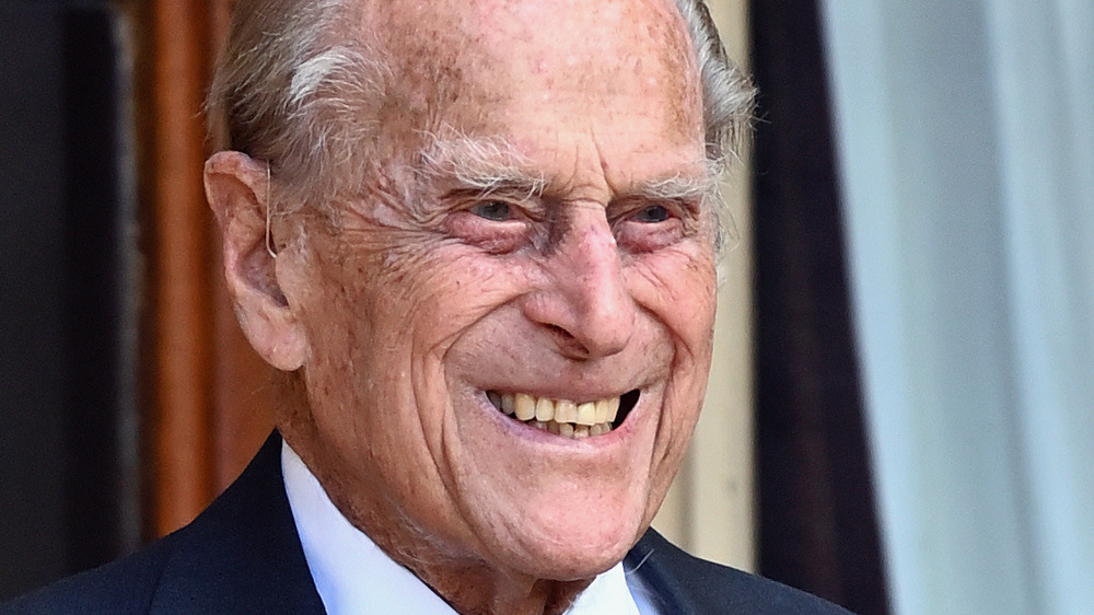 Prince Philip souriant