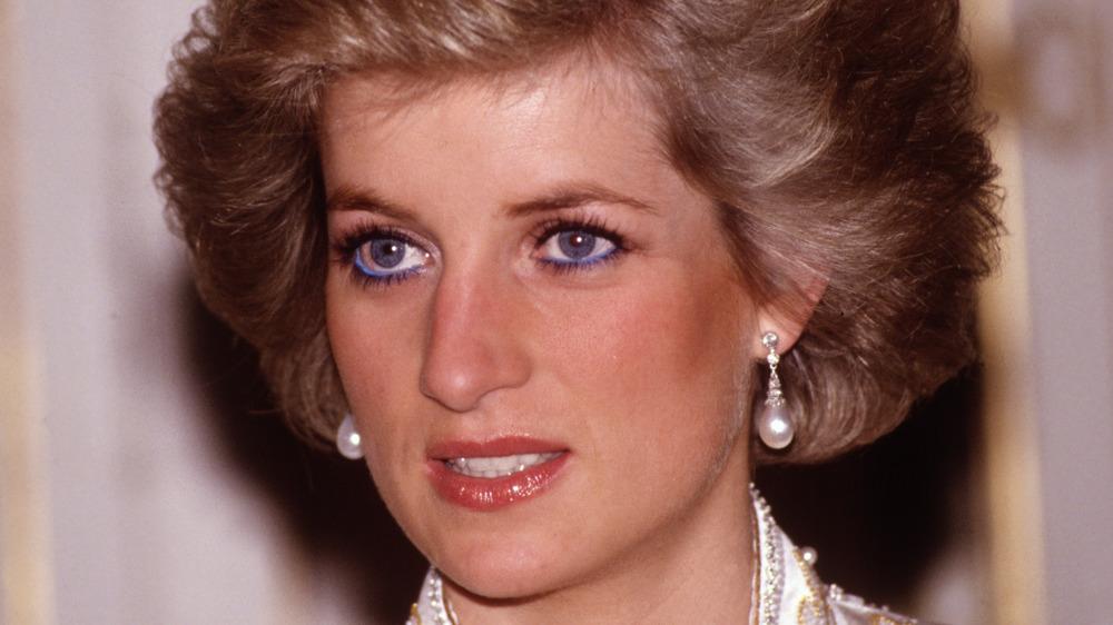 La princesse Diana lors de la tournée royale de France