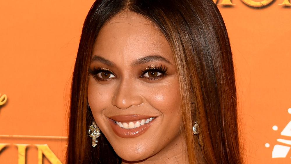 Beyonce assiste à la première de 'The Lion King'