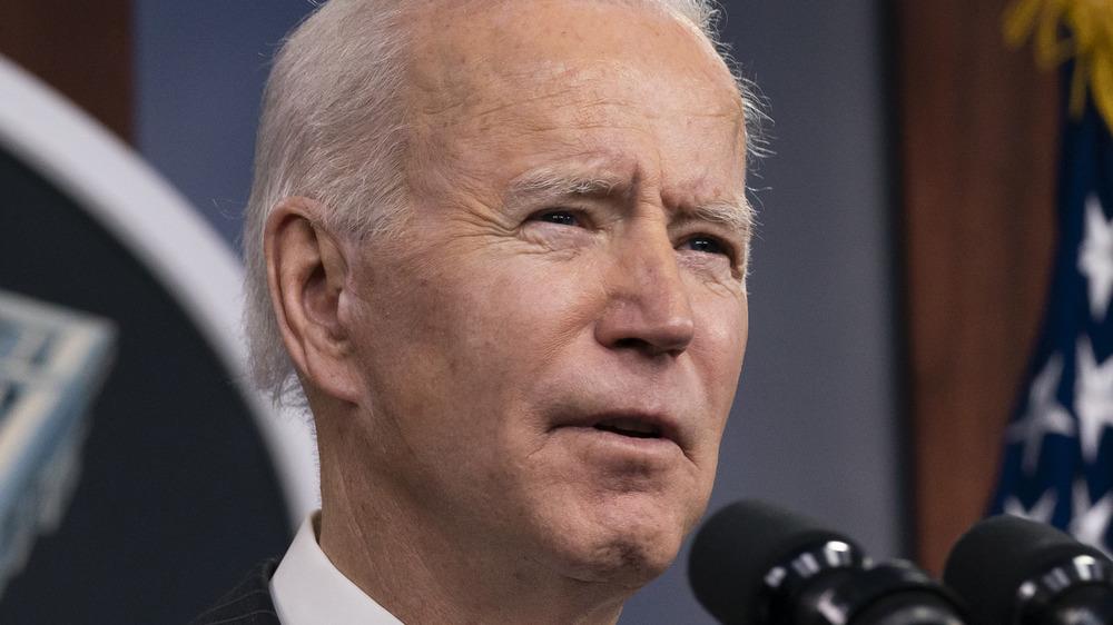 Joe Biden prend la parole au Pentagone