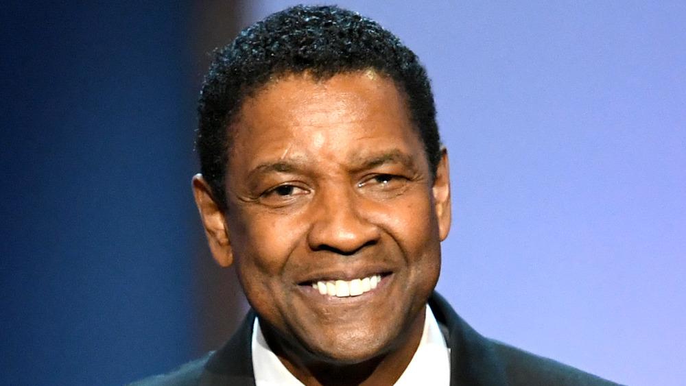 Denzel Washington souriant
