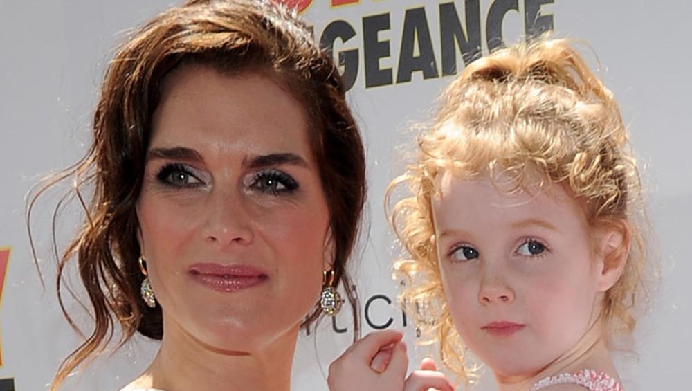 Brooke Shields et sa fille Grier sur le tapis rouge en 2010