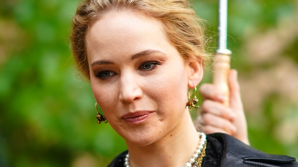 Jennifer Lawrence à la Fashion Week de Paris