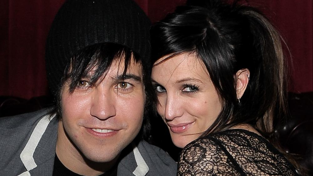 Ashlee Simpson avec son ex-mari Pete Wentz