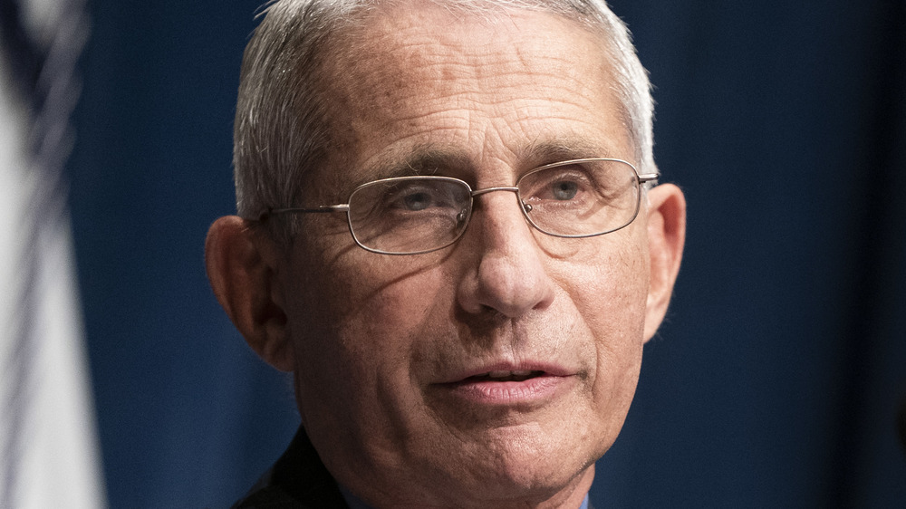 Dr Anthony Fauci s'exprimant
