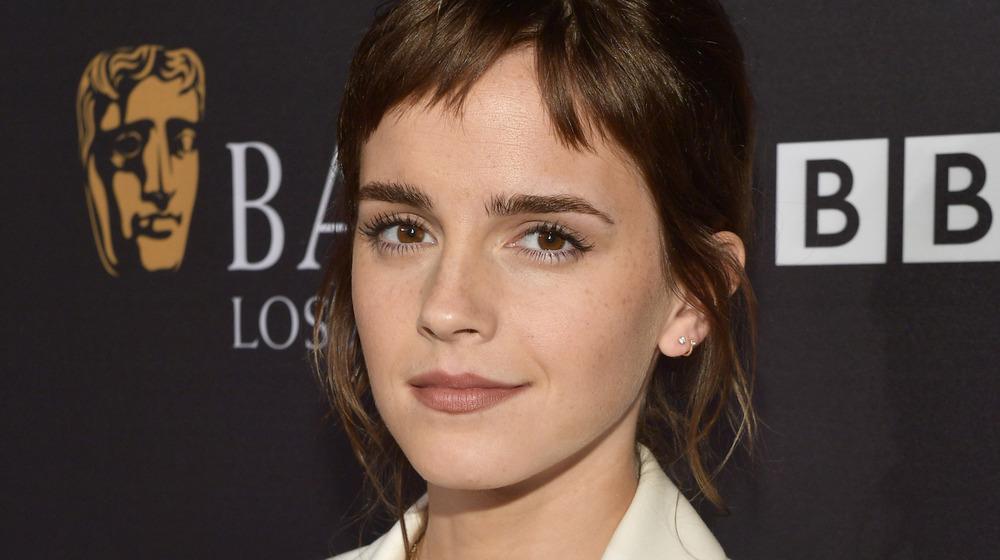 Emma Watson lors d'un événement