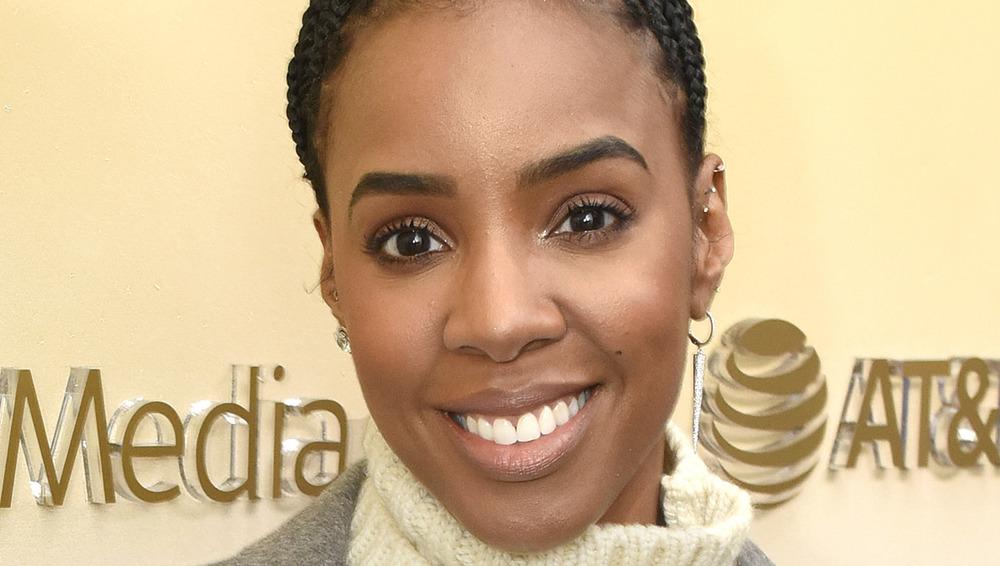 Kelly Rowland souriant