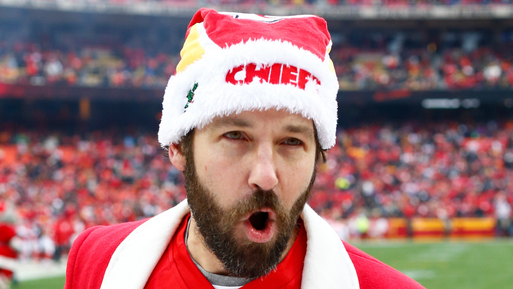 Paul Rudd applaudit les Chiefs de Kansas City