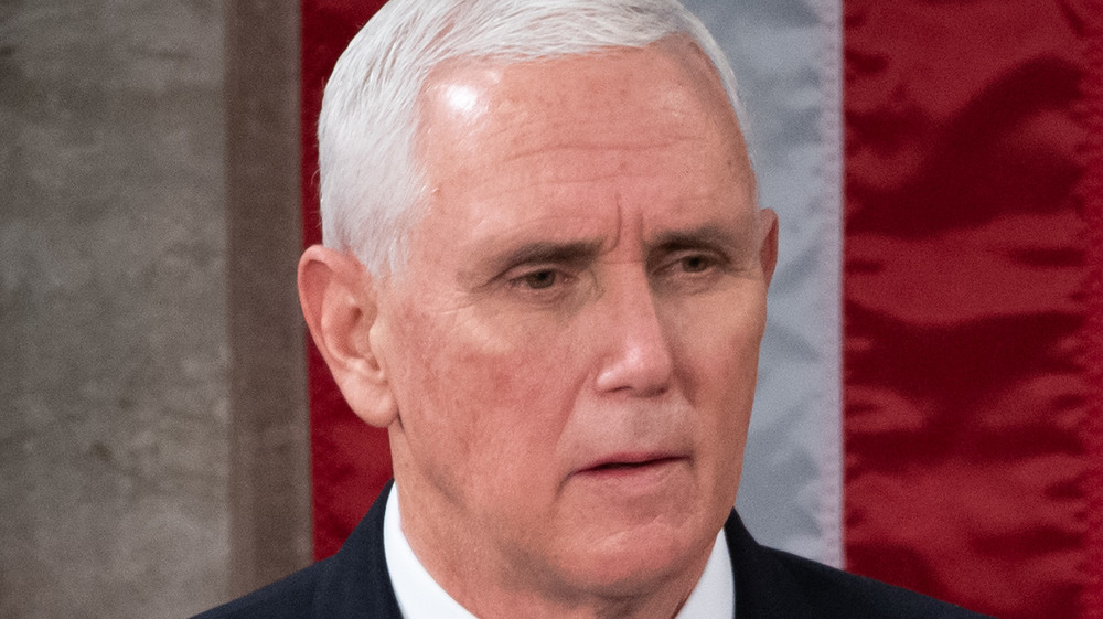 Mike Pence gros plan