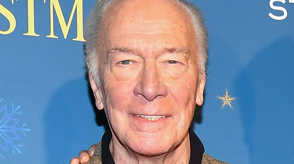 Christopher Plummer souriant
