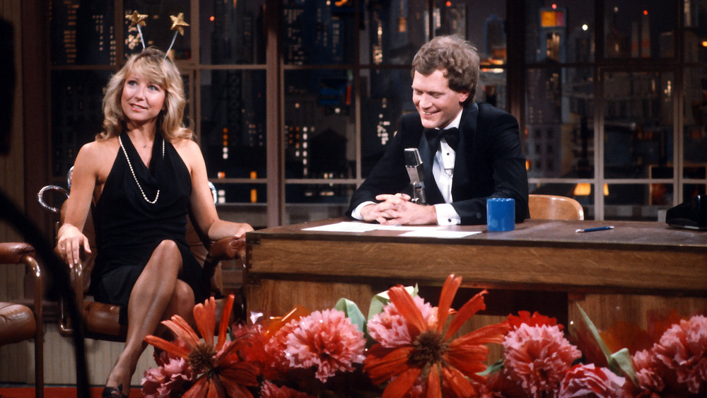 Teri Garr et David Letterman