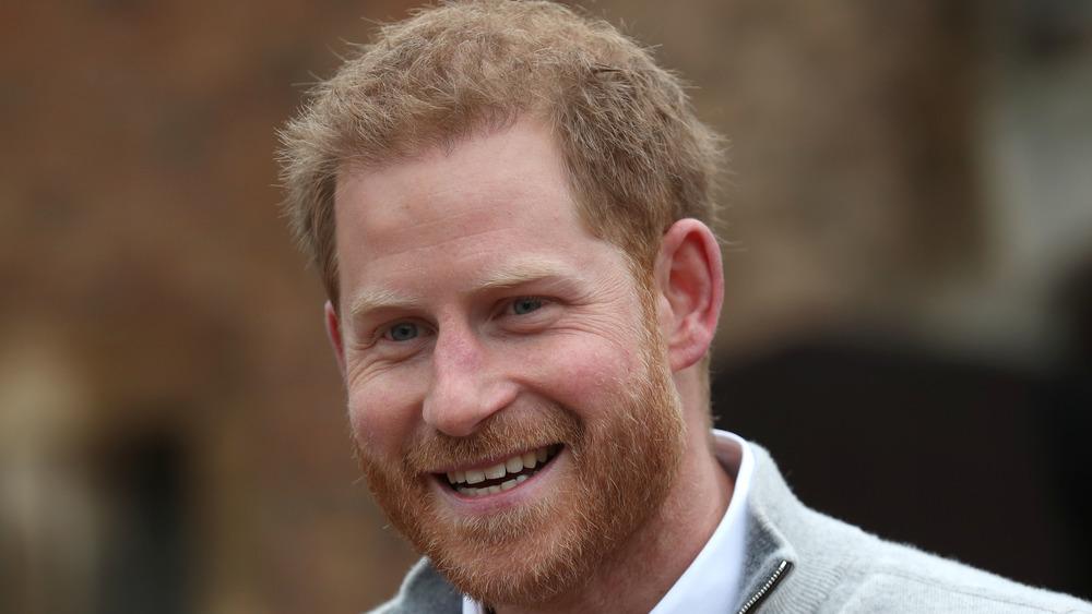 Prince Harry souriant