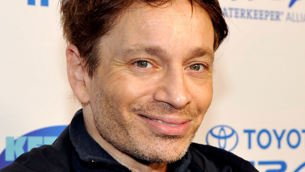 Chris Kattan souriant