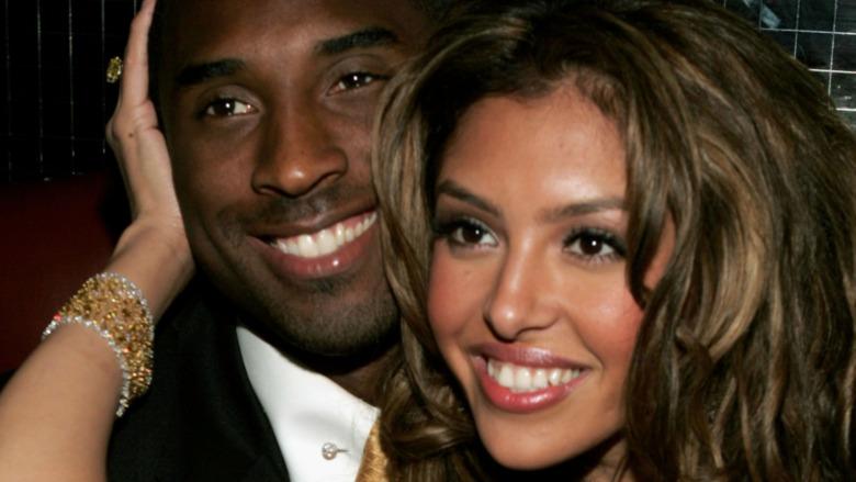 Kobe et Vanessa Bryant posent pour une photo
