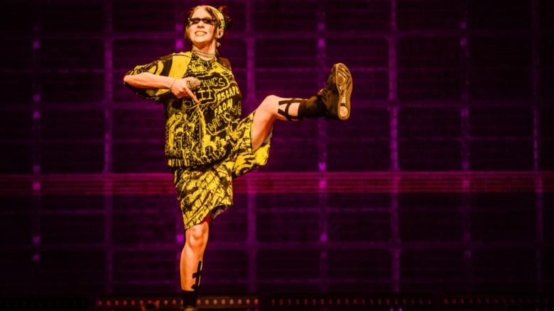 Billie Eilish sur scène