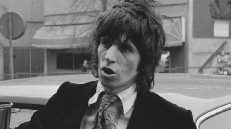 Keith Richards jeune