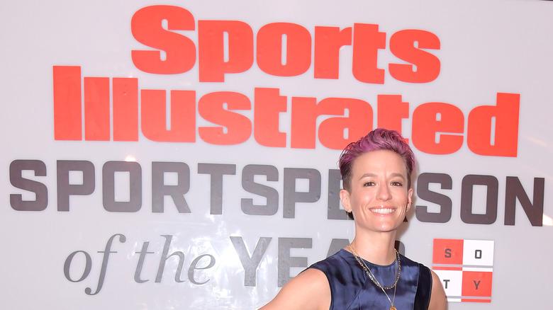 Annonce de Megan Rapinoe Sports Illustrated