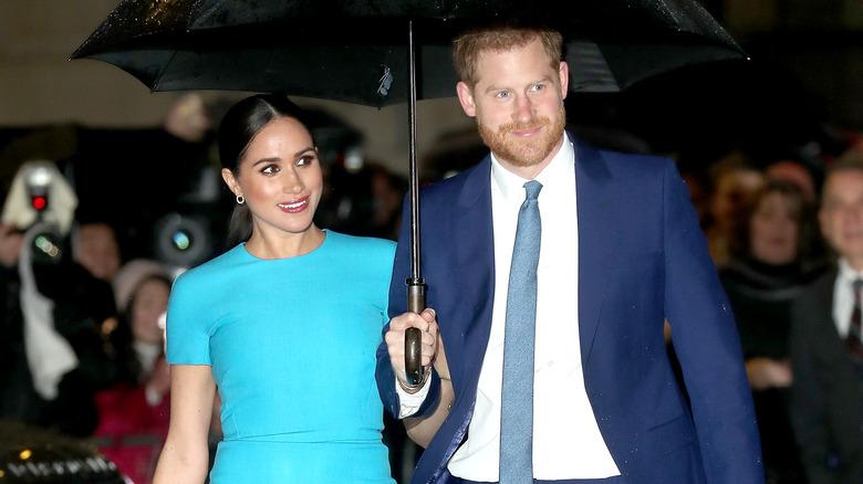 Le prince Harry et Meghan Markle à l'événement 2020