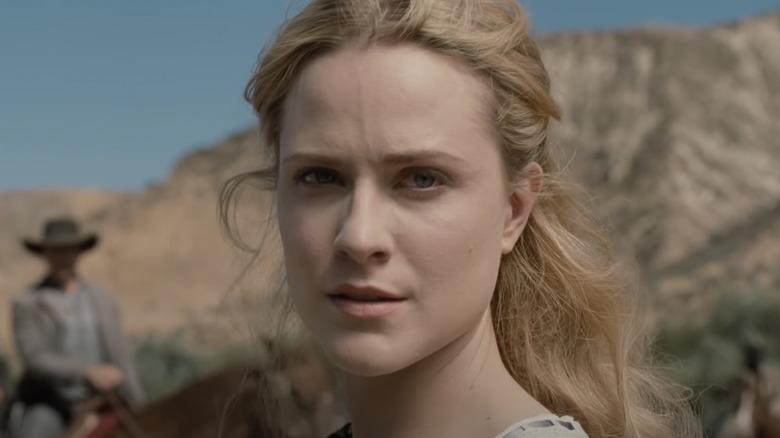 Evan Rachel Wood sur Westworld
