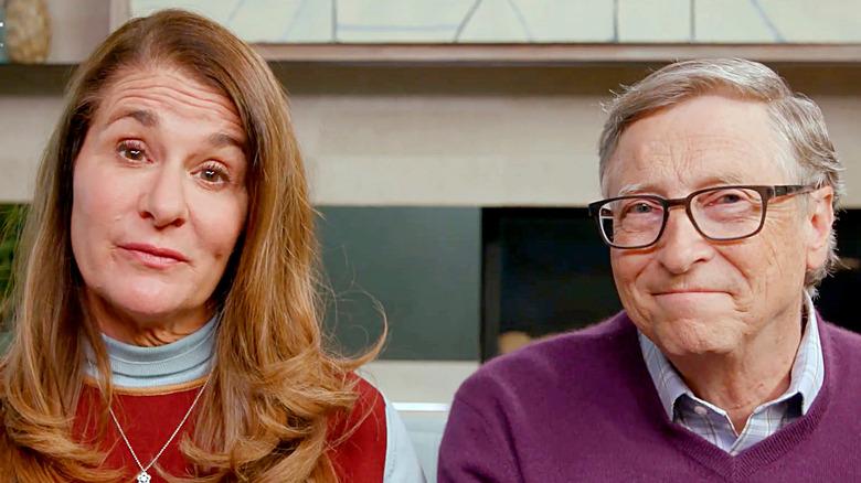 Bill et Melinda Gates s'exprimant en ligne